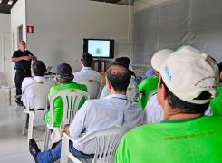 Referência internacional em irrigação, NaanDanJain dá treinamento em Holambra